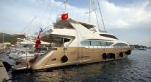 Crewed motoryacht