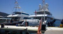 Crewed motoryacht